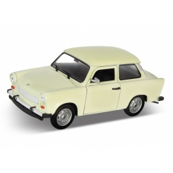 Trabant 601 WELLY 1:39 kremowy